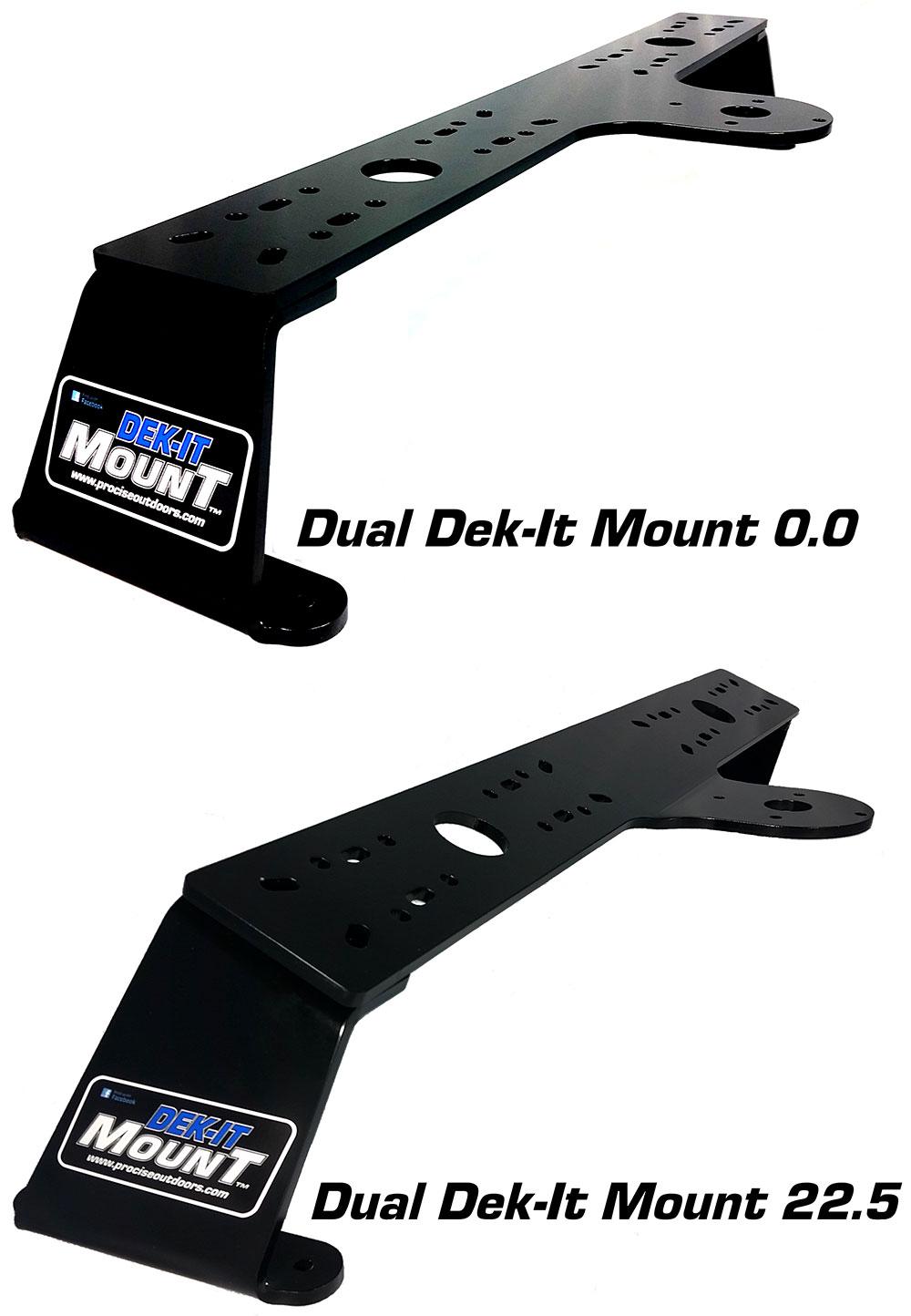 Dual Unit Dek-It Mounts