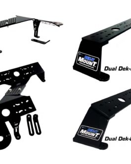 Dek-It Deck Dual Unit Mount