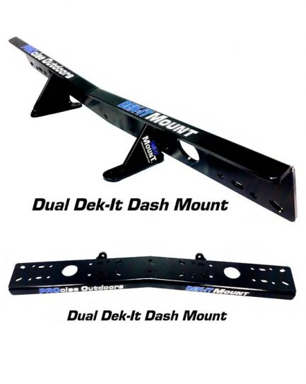 Dual Unit Dek-It Dash Mount